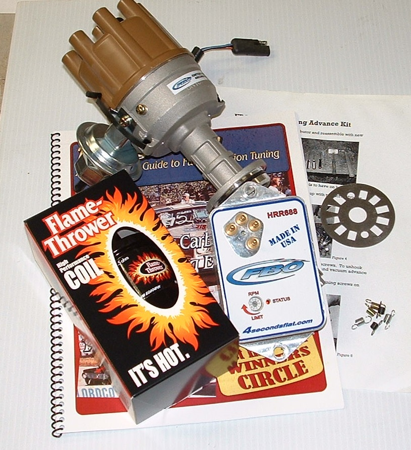 How to limit mechanical advance in a mopar distributor, tuning for